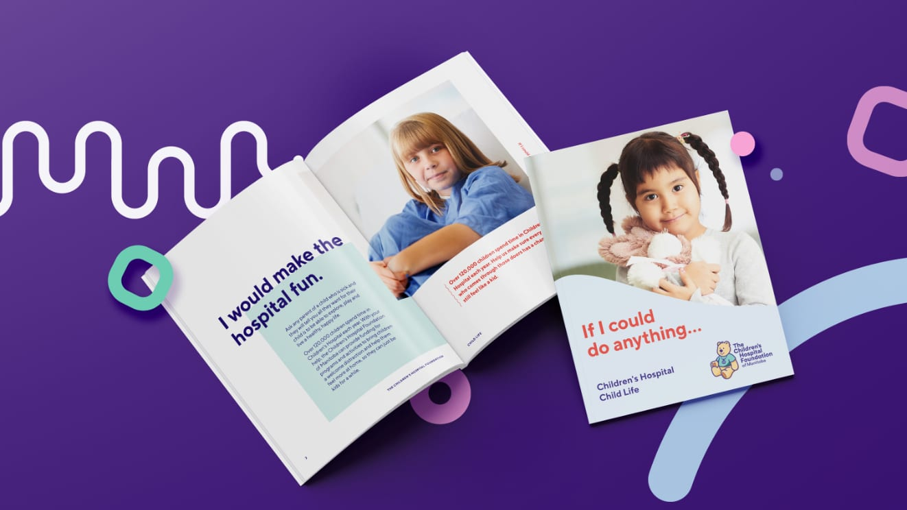 Children's Hospital Brand Brochure